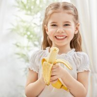 10 poderes del plátano en la dieta de bebés y niños