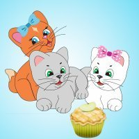 Three little kittens. Canciones en inglés para bebés