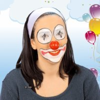 Maquillaje de payaso fácil para fiestas infantiles