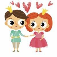 La princesa de fuego. Cuento de amor para niños