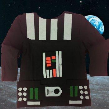 Disfraz de Darth Vader. Manualidades de disfraces infantiles