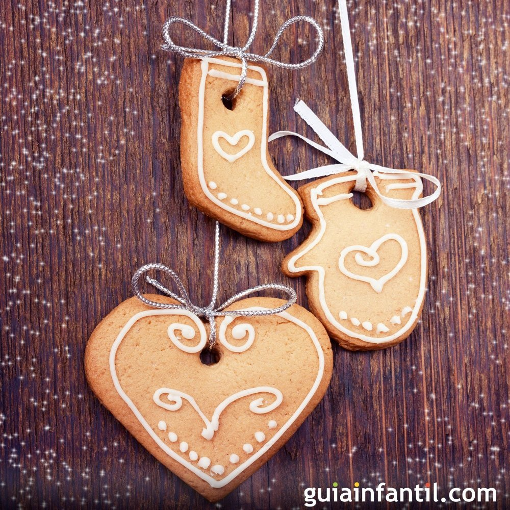 Adornos dulces para el árbol de Navidad