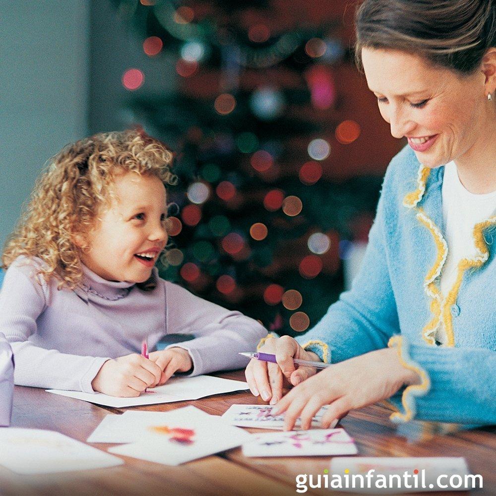 Ideas De Postales De Navidad Para Ninos - Tarjetas-navideas-para-nios