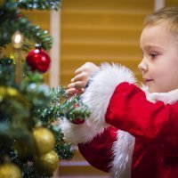 Manualidades de adornos de Navidad con palos de helado