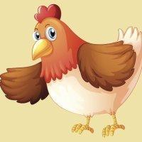 La gallina roja. Cuentos cortos para niños