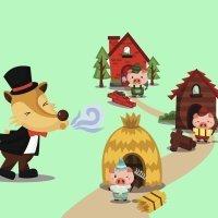 Los Tres Cerditos. Cuentos tradicionales para niños