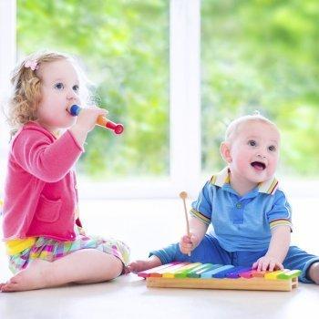 Estímulos musicales en la infancia