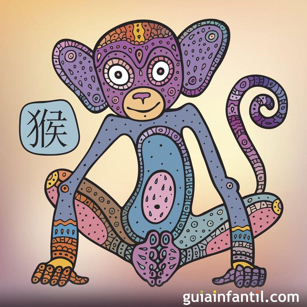 Horóscopo chino para los niños del signo Mono