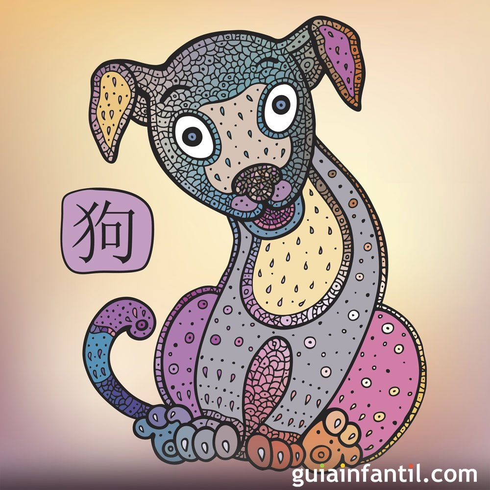 Niños del signo Perro en el zodiaco chino