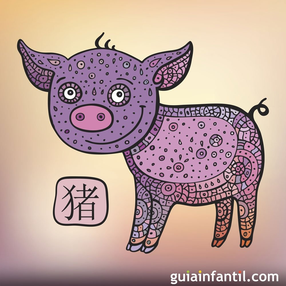 Horóscopo para los bebés del signo Cerdo