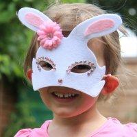 Antifaces para niños con cartulina. Manualidades de Carnaval