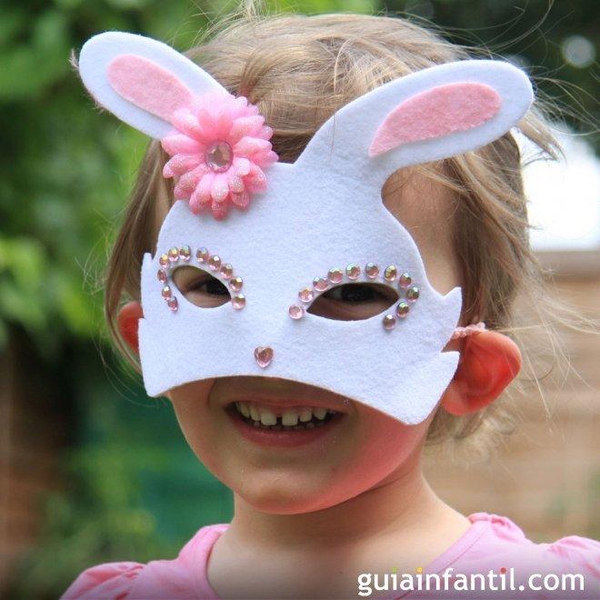 6aaafed2e3 Antifaces para niños con cartulina. Manualidades de Carnaval