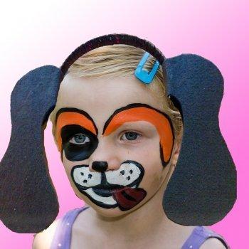 Diadema con orejas de perro. Manualidades de Carnaval