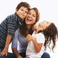 Risoterapia en casa y con los niños