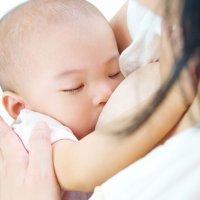 La succión del bebé y posiciones para amamantar