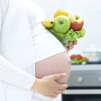 Dieta sana para mujeres embarazadas