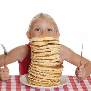 Proporciones de la dieta equilibrada para los niños