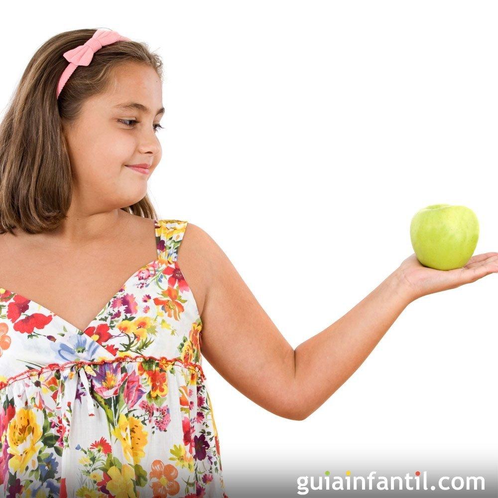 Dietas para ninos de 10 a 12 anos para adelgazar