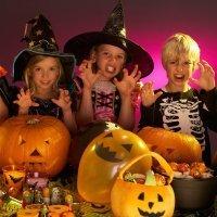 Decoración para la fiesta de Halloween de los niños