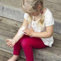 Los problemas de la piel de los niños
