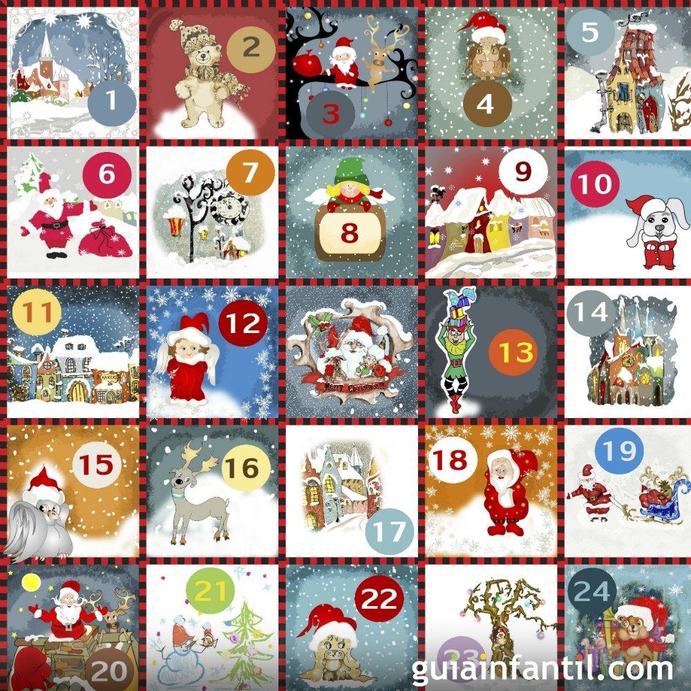 Calendario de adviento digital de manualidades para ni os for Manualidades para diciembre