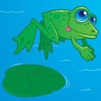 Fábulas para niños. La rana en el pozo