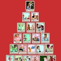 Calendario de Adviento interactivo de valores para niños