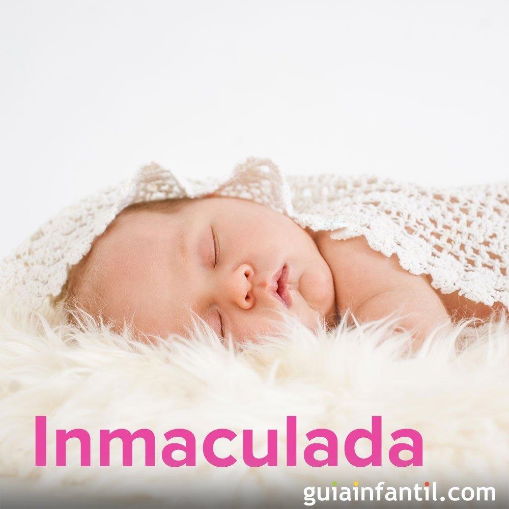 Dia De Inmaculada Concepcion 8 De Diciembre Nombres De Nina
