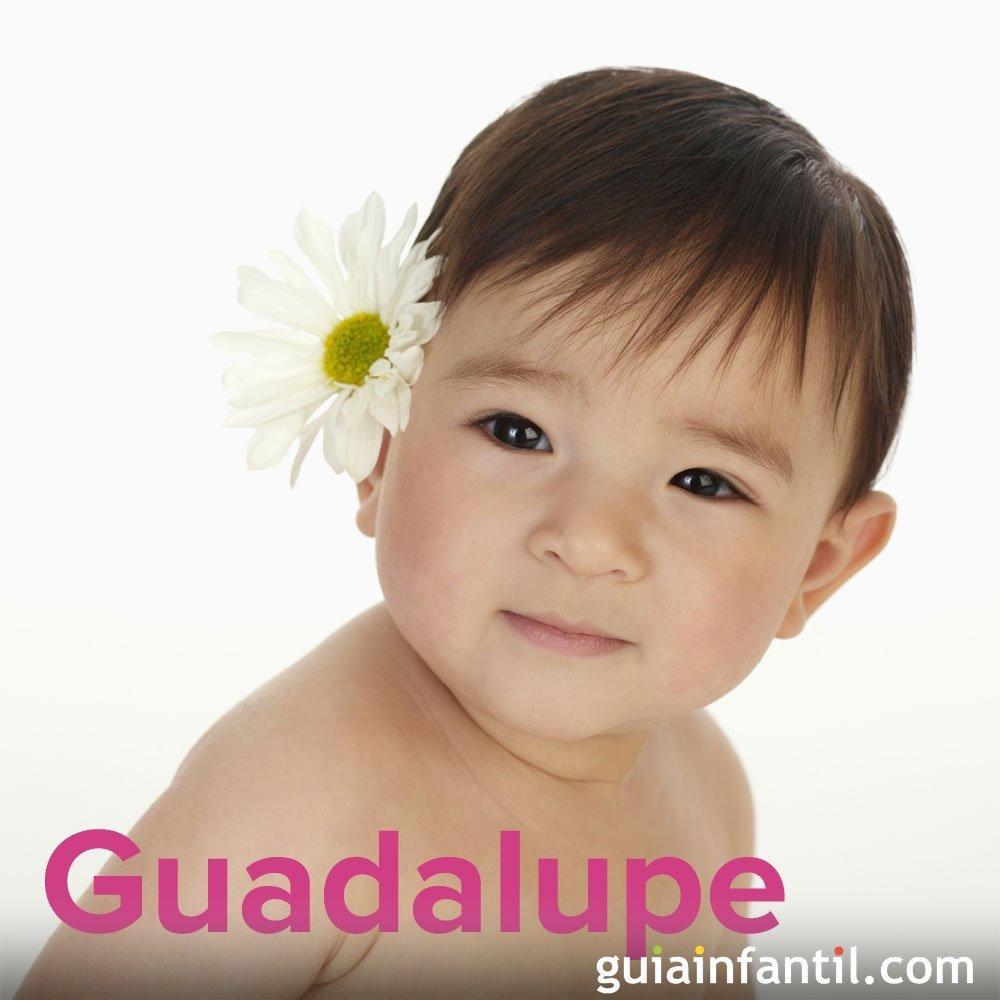 Día de la Virgen de Guadalupe, 12 de diciembre. Nombres para niña