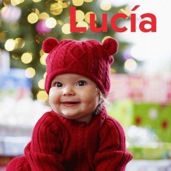 Lucía: dibujos de los nombres para colorear, pintar e imprimir