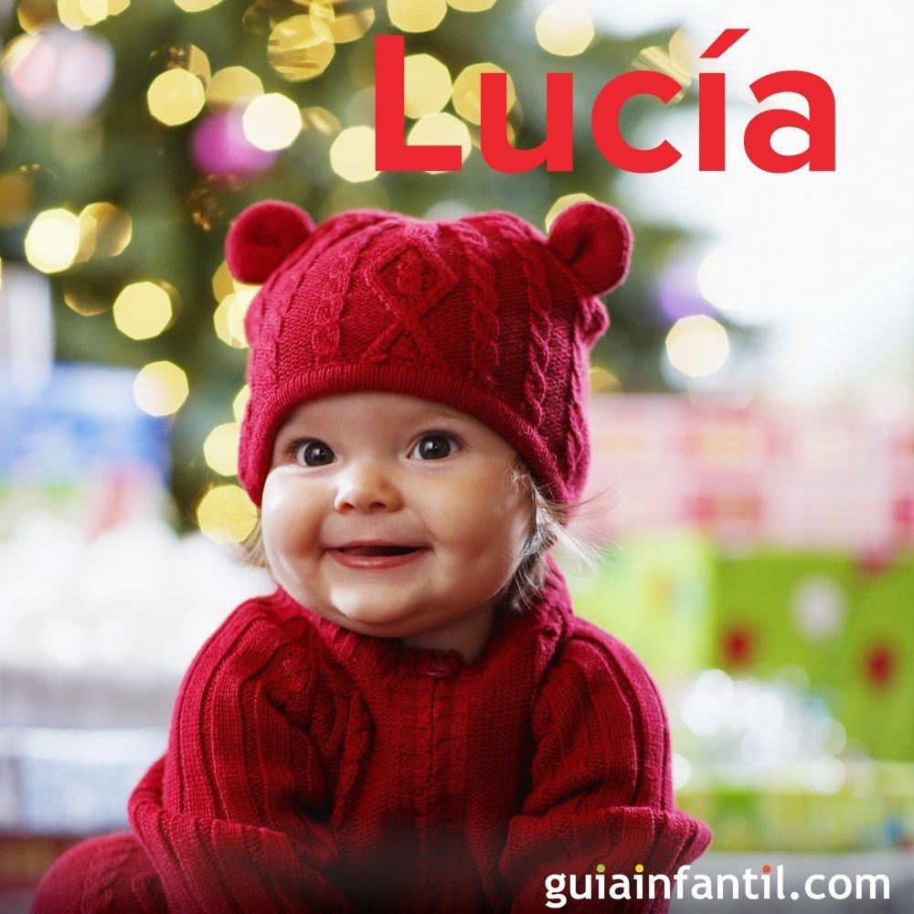 Día de santa Lucía, 13 de diciembre. Nombres para niña