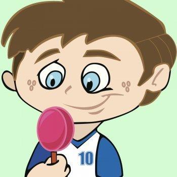 El niño y los dulces