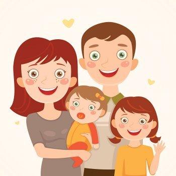 El padre y las dos hijas