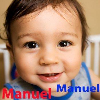 Manuel: dibujos de los nombres para colorear, pintar e imprimir
