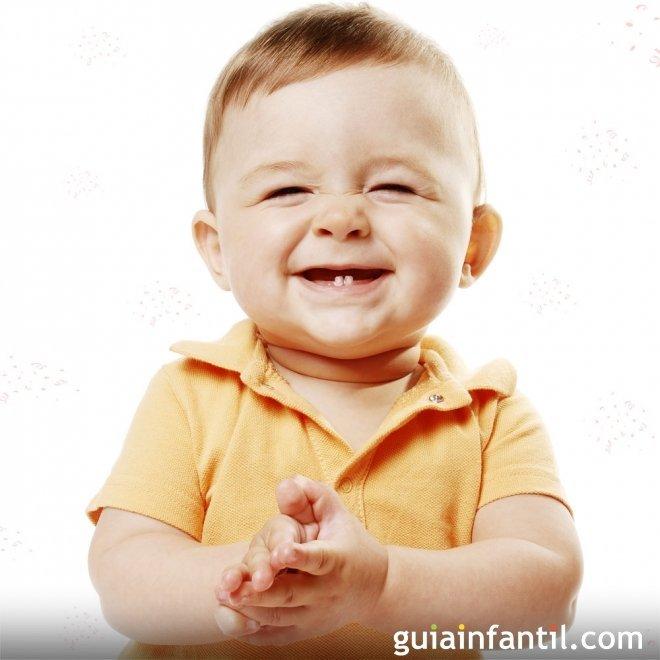 Orden de salida de los dientes de leche del bebé