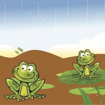 Las ranas y el pantano seco