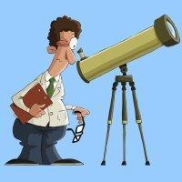 El astrónomo. Fábulas infantiles de Esopo