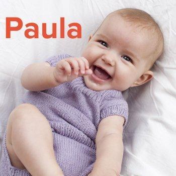Paula: dibujos de los nombres para colorear, pintar e imprimir