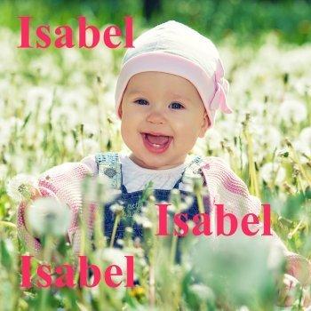 Isabel: dibujos de los nombres para colorear, pintar e imprimir