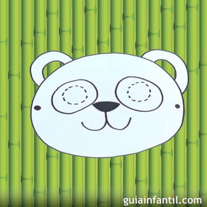 Como Hacer Paso A Paso Una Mascara De Oso Panda