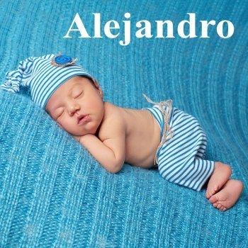 Dibujo del nombre Alejandro para colorear, pintar e imprimir