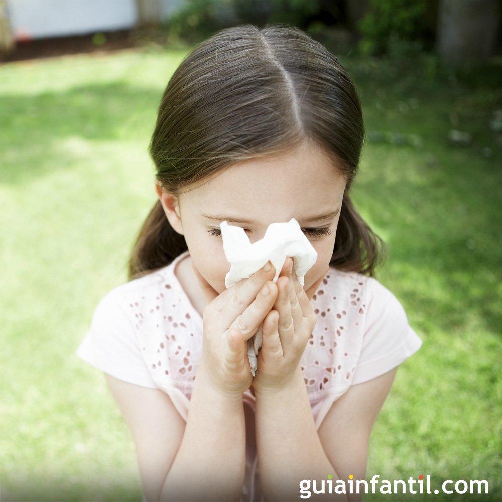 Alergia  Niños alérgicos