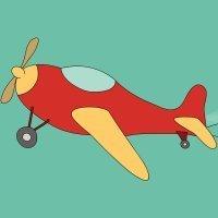 Cómo hacer, paso a paso, un dibujo de un avión