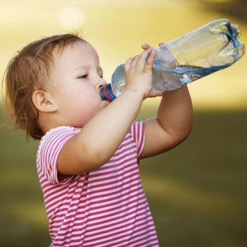 Deshidratación en bebés y niños