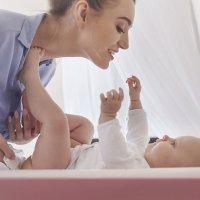 Bebés con asaduras o eczemas