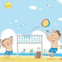 The months of the year. Canción infantil en inglés