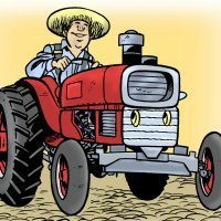 The farmer. Canción infantil en inglés