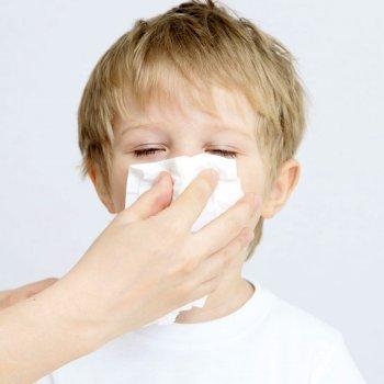 Gripe en bebés y niños