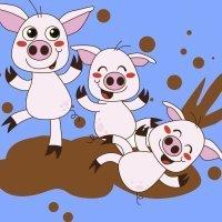 The Three Little Pigs. Cuentos tradicionales en inglés para niños