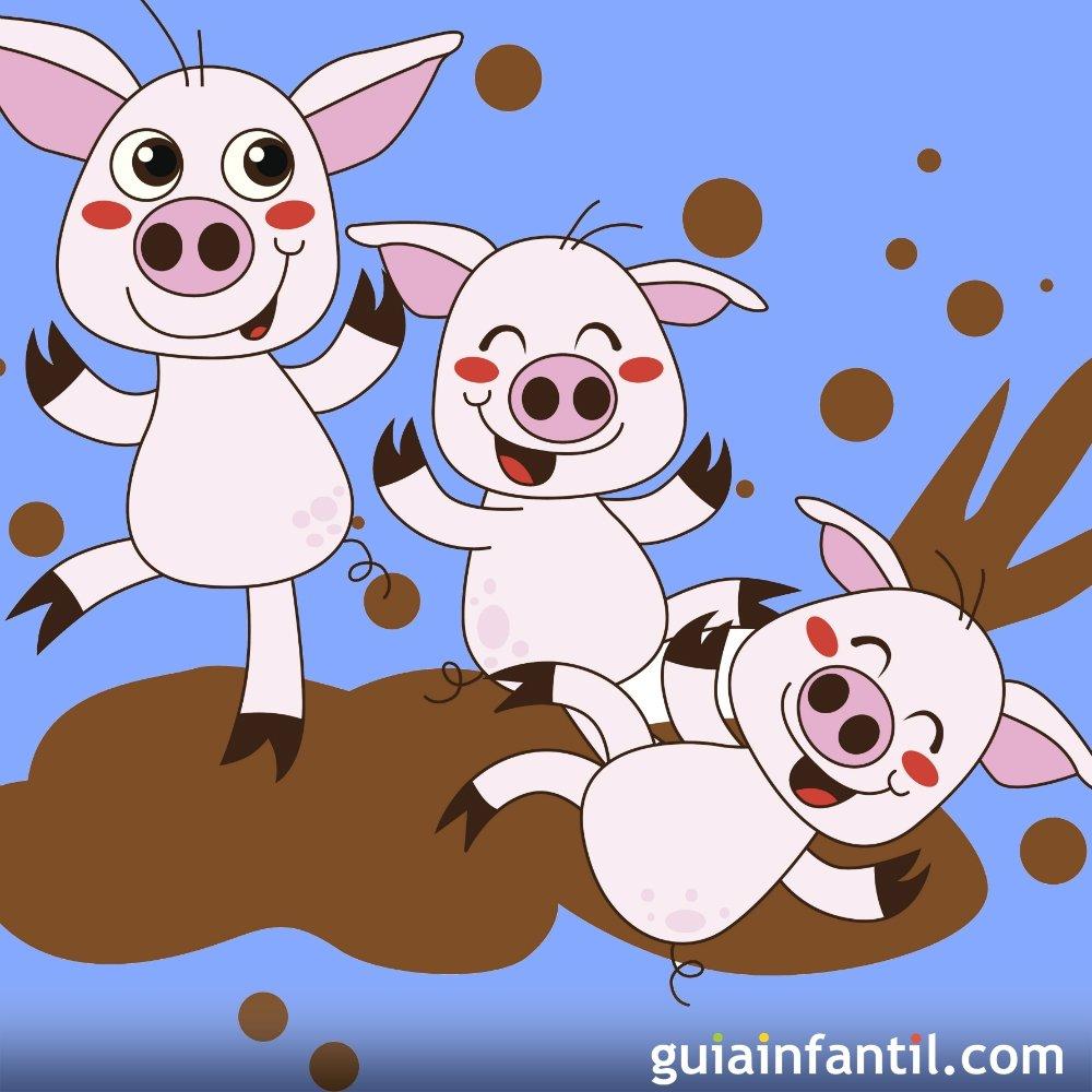 The Three Little Pigs Cuentos Tradicionales En Inglés Para Niños